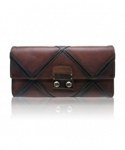 Womens Leather Wallets Handmade Organizer