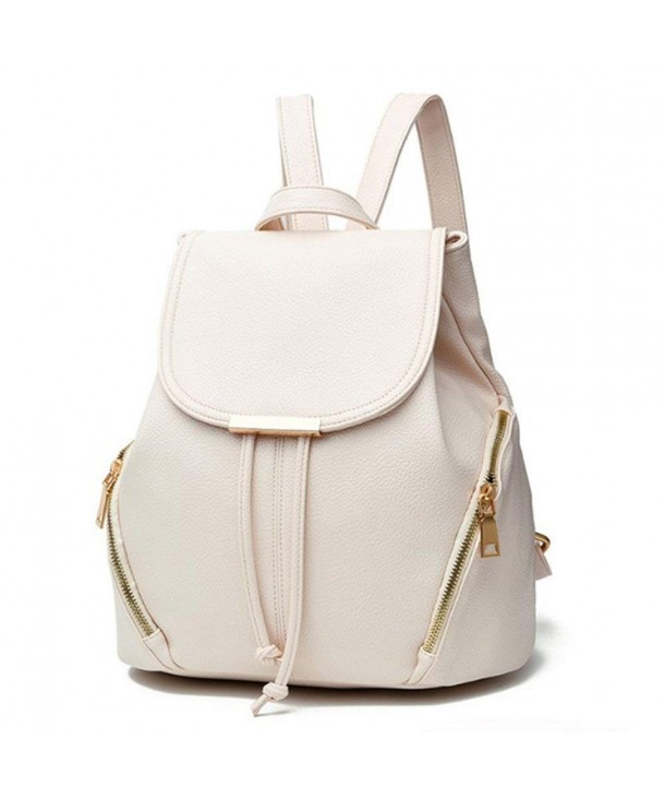 aiseyi Fashion Leather Backpack Shoulder