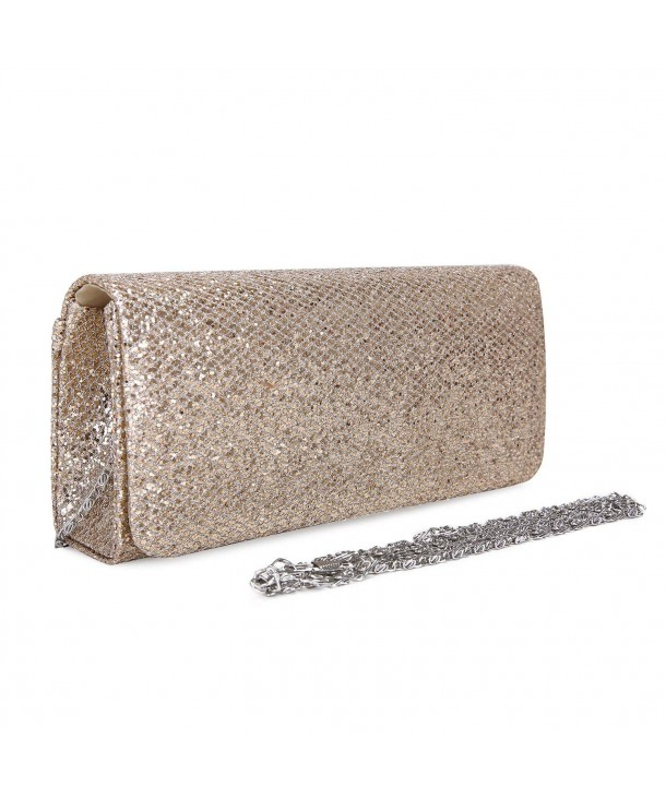ECOSUSI Dazzling Evening Handbag Detachable