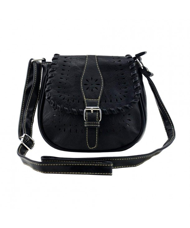Bausweety Vintage Crossbody Leather Shoulder