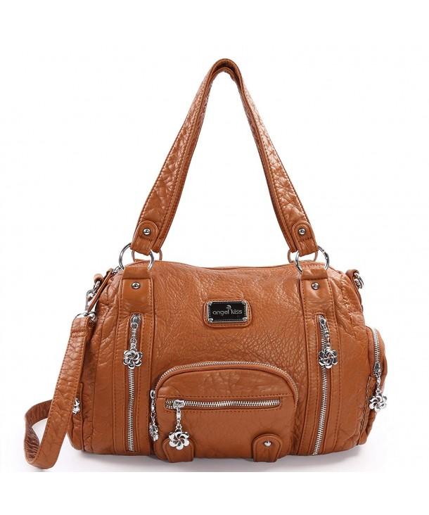 Purses Handbags Resistant Messenger Compartments