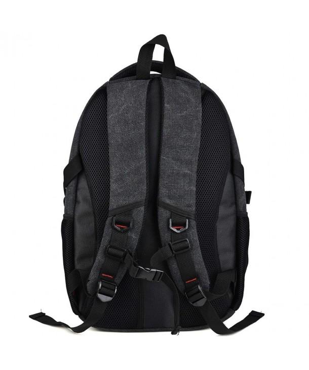 Kroo Canvas Backpack Laptops MacBook