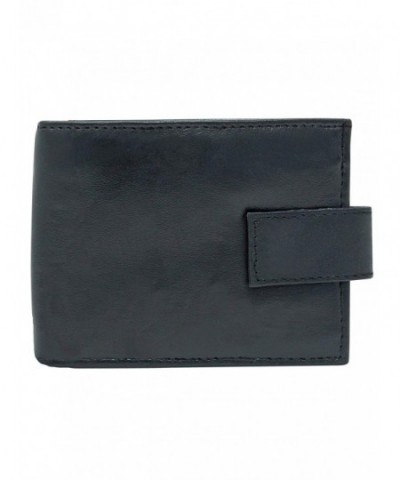 Closing Bifold Wallet Inside Zipper