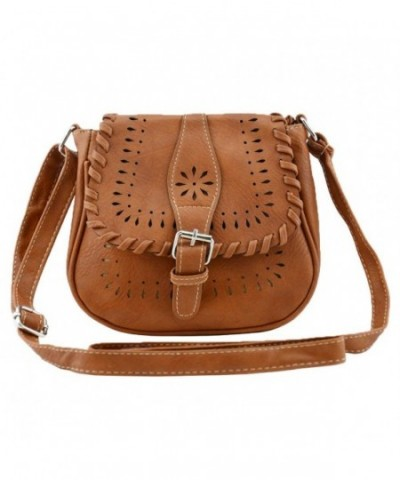Bausweety Crossbody Vintage Leather Shoulder