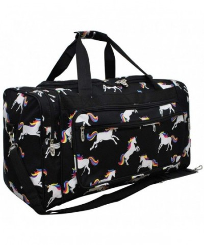 Unicorn NGIL Canvas Shoulder Duffle