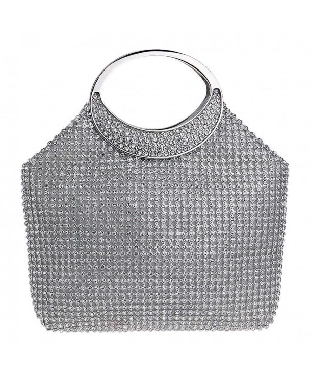 ZAKIA Crystal Rhinestone Evening Handbag
