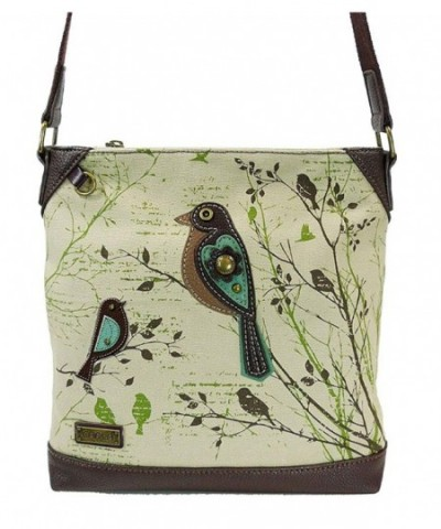 Chala Safari Bird Canvas Crossbody