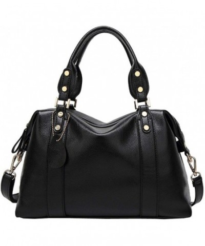 Kenoor Leather Handbag Shoulder Satchel