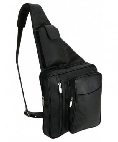 Cowhide Crossbody Compatible Shoulder Carabiner