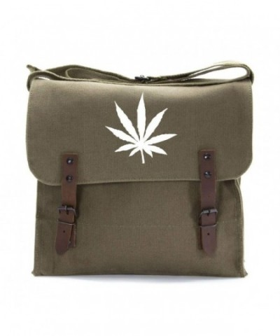 Marijuana Heavyweight Canvas Medic Shoulder