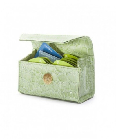 CARD CUBBY Wallet Organizer LIME