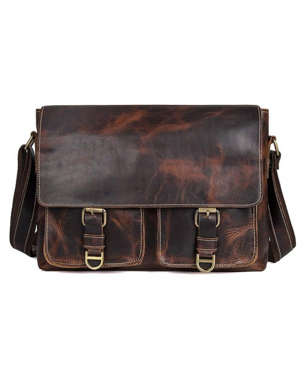 Clean Vintage Crossbody Carry All Messenger