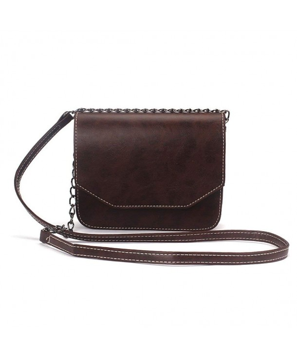 Voberry Classic Leather Shoulder Crossbody