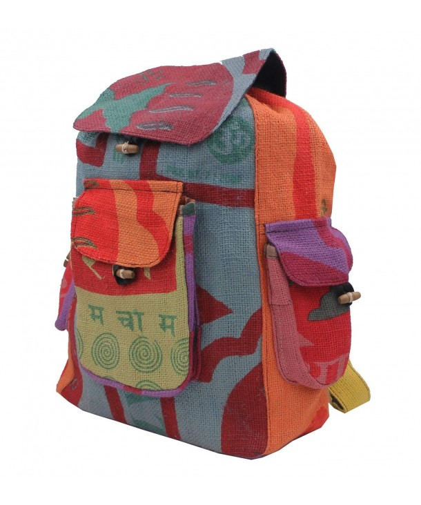 KayJayStyles Hippie Recycled Backpack Nepal