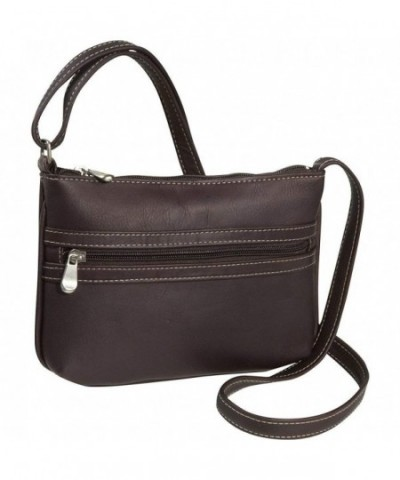 Donne Leather City Crossbody Cafe