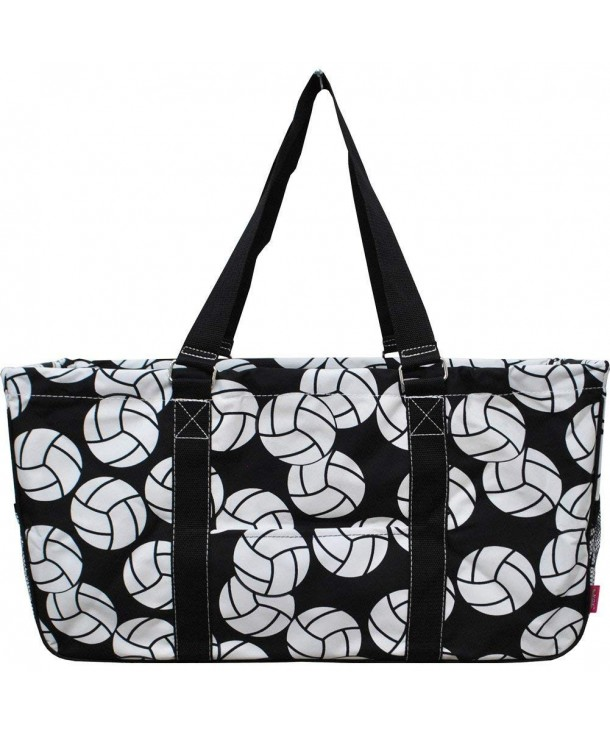 Volleyball Print Large Canvas Utility