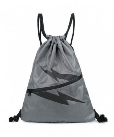 Drawstring Backpack Sports String Sackpack