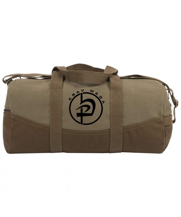 Duffle Brown Bottom Detachable Strap
