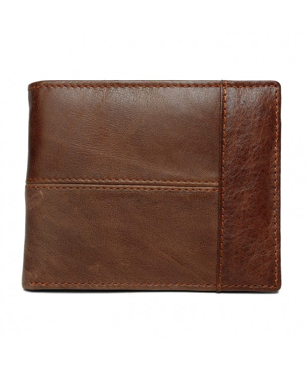 Geremen Leather Trifold included 8064Brown