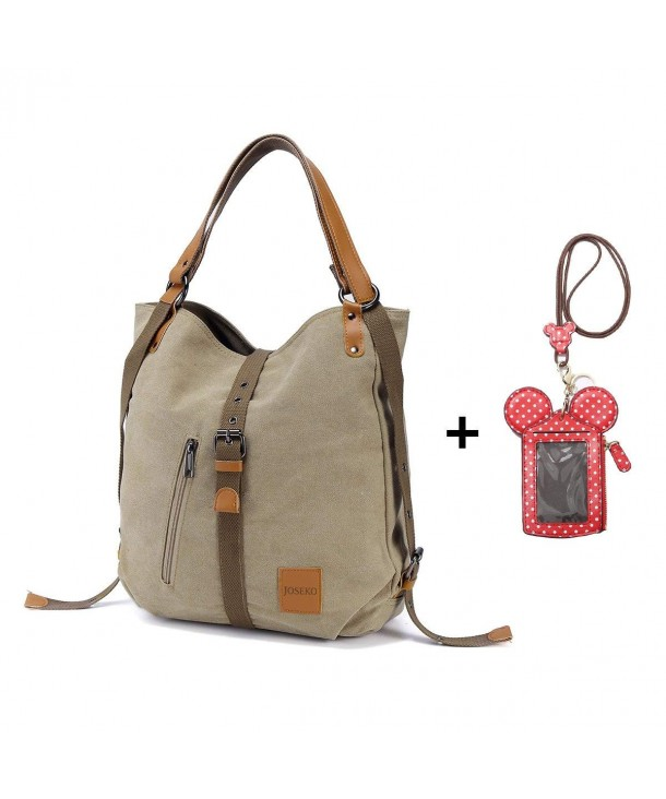 JOSEKO Multifunctional Canvas Convertible Backpack