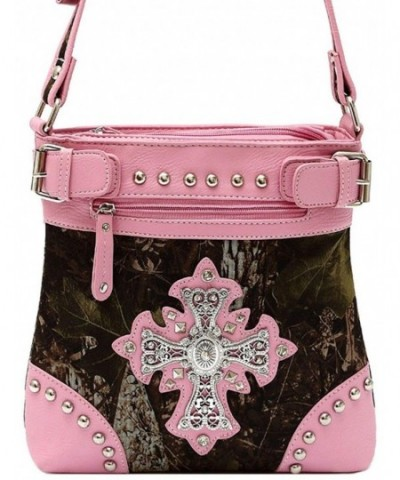Camouflage Studded Handbag Western Shoulder