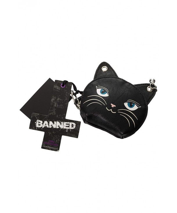 Banned Feminine Feline Cat Purse