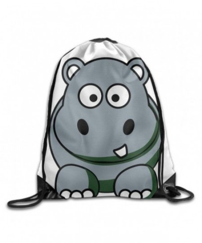 Cartoon Animals Drawstring Storage Backpack