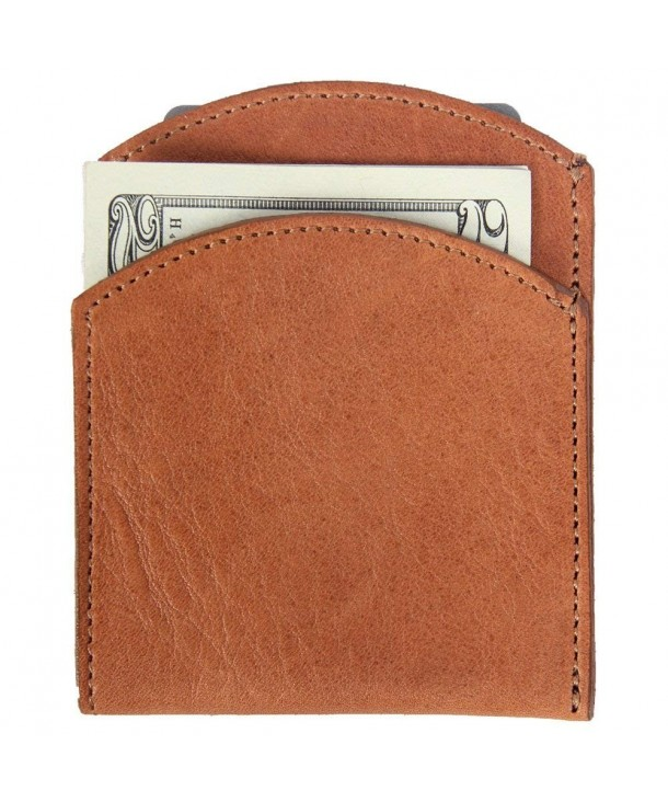 Leather Pocket Wallet Pockets Saddle