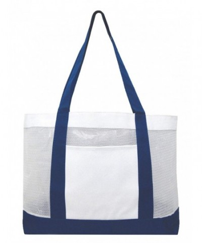 Mesh Tote Beach Bag Swimming
