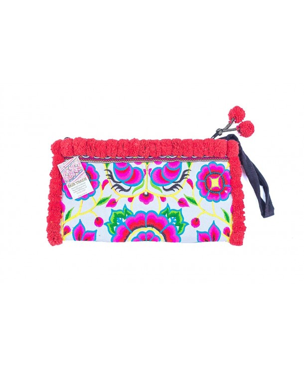 Hamdnade Tribe Wristlet Embroidered Hmong
