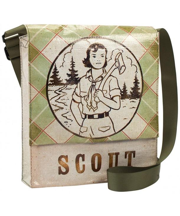 Blue Q Scout Messenger Bag