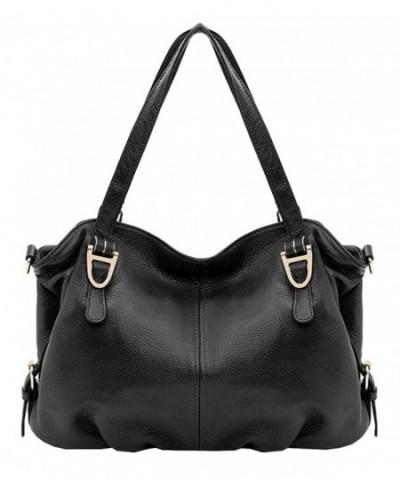 Leather Shoulder Handbags Vintage Satchel