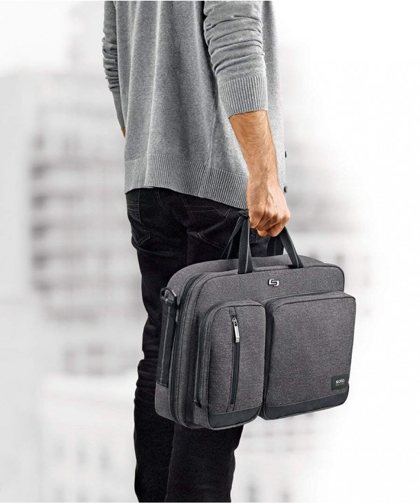Laptop Hybrid Briefcase Converts Backpack
