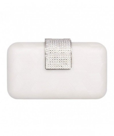 Damara Womens Clutches Rhinestone Evening