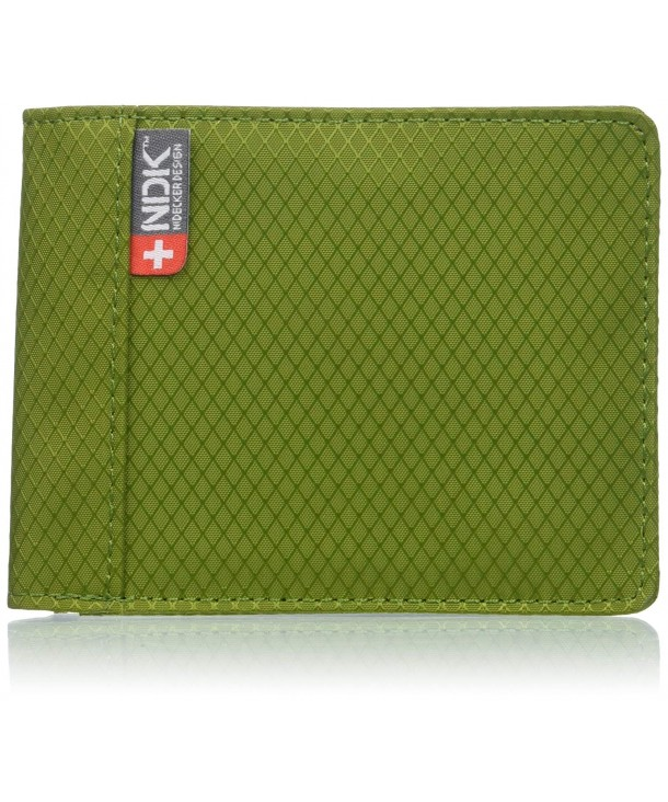 NDK Protected Billfold Wallet Green