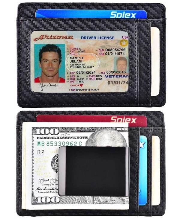 Spiex Minimalist Wallet Blocking Pocket