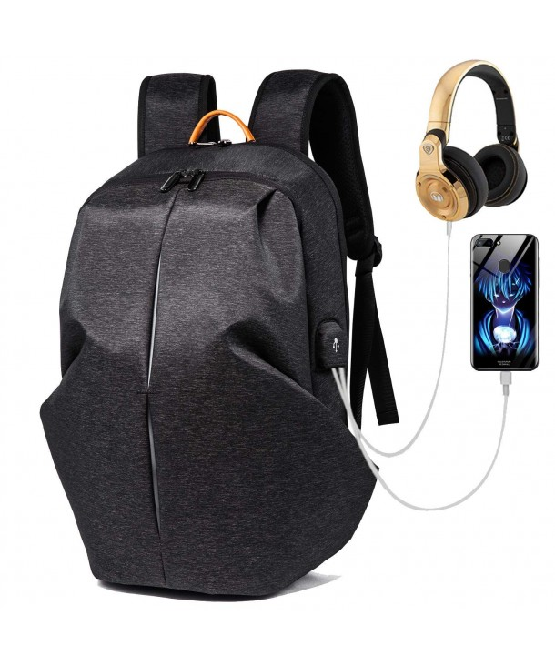 Anti theft Business Backpack Headphone Resistant