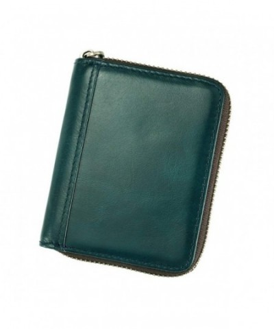 Leather Holder Zipper Credit Protector
