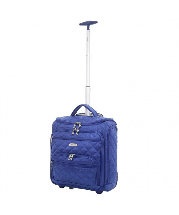 Aerolite Wheeled Trolley Luggage Midnight