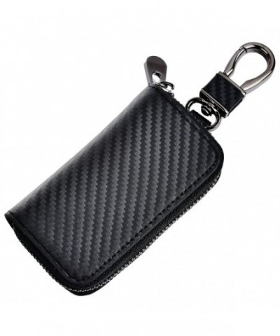 Kinzd Leather Chain Holder Zipper