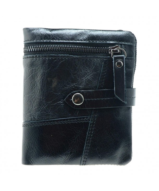 Lustear Tri fold Leather Wallet Closure