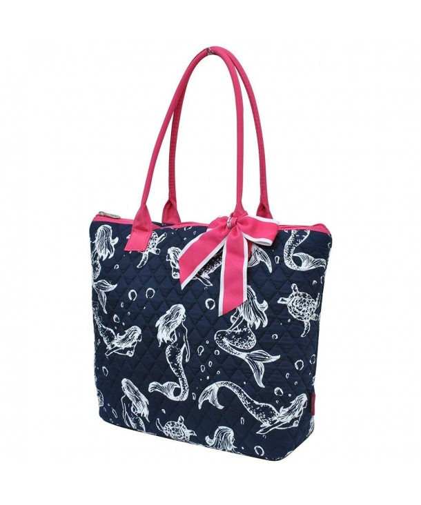 Mermaid Pink NGIL Quilted Tote