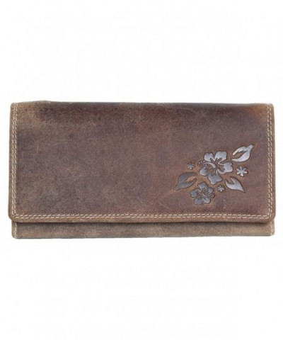 Genuine Leather Partial Ornamental Stamping