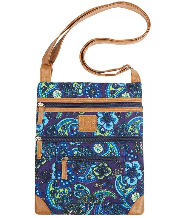 Stone Mountain Lockport Quilted Handbag