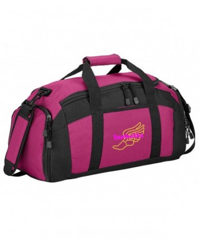 Personalized Track Sports Duffel Tropical