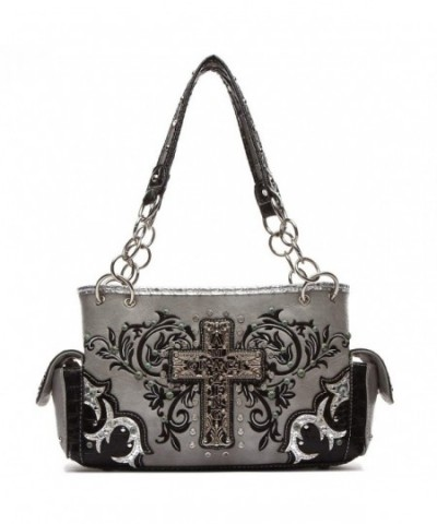 Western Handbag Amazing Embroidered Religious