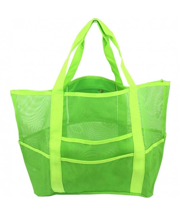 Extra Large Mesh Beach Bag Toy Tote Swimming