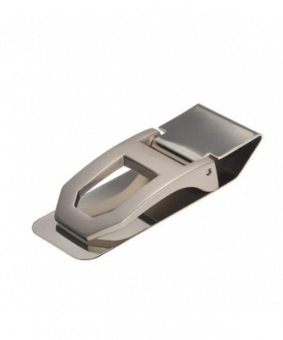 Housweety Silver Stainless Rectangle Wallet