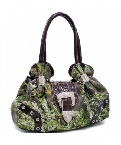 Dasein Realtree Camouflage Shoulder Rhinestone