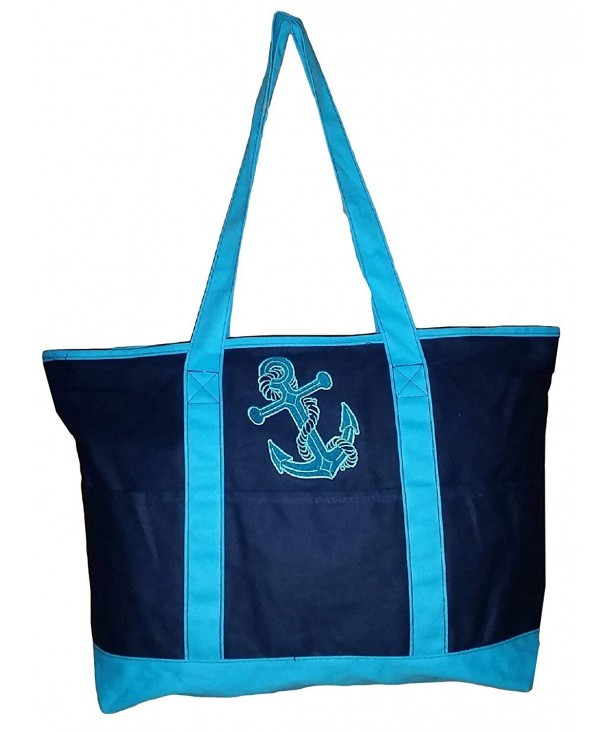 Large Embroidered Themed Zipper Anchor